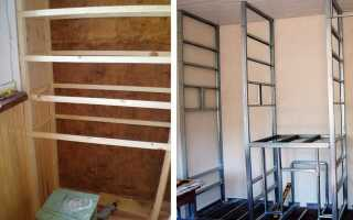 Как сделать шкаф на балконе: инструкция по монтажу и фото удачных решений