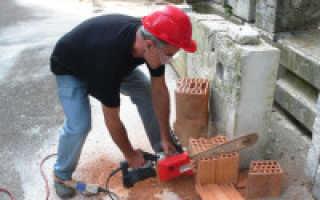 Как резать печной кирпич в домашних условиях: использование инструментов и ручной способ