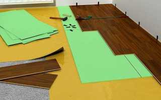 Как выбрать подложку под ламинат на бетонный пол