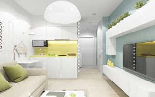 Дизайн маленькой квартиры-студии: как сделать студийный интерьер красивым и гармоничным