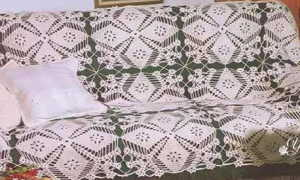 Создание покрывала, вязаного крючком из квадратов: выбор ниток и пошаговый мастер-класс