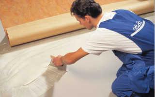 Чем приклеить линолеум к деревянному полу в квартире