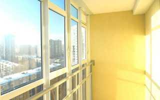 Как утеплить витражный балкон с остеклением своими руками