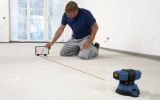 Как правильно выровнять по уровню полы во всех комнатах дома во время ремонта