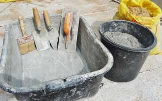 Приготовление бетона пропорции таблица: необходимые ингредиенты и технология приготовления своими руками