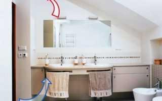 Вентиляция в ванной комнате и туалете: как улучшить имеющуюся систему своими руками