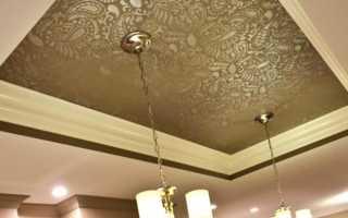 Тканевый натяжной потолок своими руками: преимущества и недостатки материала, особенности монтажа