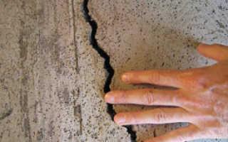 Как заделать трещину в стене: почему они появляются в квартире или доме, и как устранить проблему