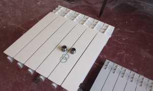 Как разобрать алюминиевый радиатор отопления своими руками: пошаговая инструкция