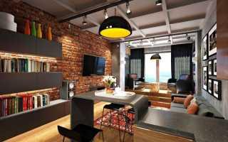 Стиль лофт в интерьере квартиры: фото вариантов, основные черты оформления
