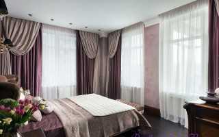 Шторы в спальню: правила выбора