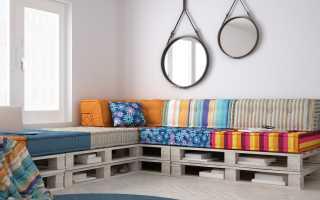 Как сделать диван из поддонов своими руками: пошаговый мастер-класс