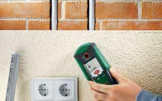Как найти проводку в стене с помощью специальных устройств или без прибора