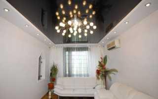 Комбинированный потолок, гипсокартон и натяжной: устройство своими руками