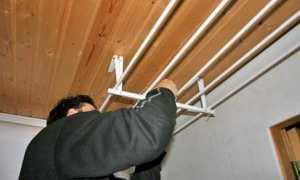 Как сделать сушилку для белья на балконе или на лоджии своими руками: пошаговая инструкция