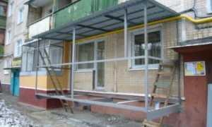 Как пристроить балкон на втором этаже: пошаговая инструкция