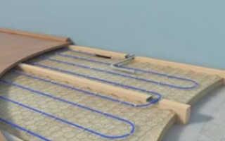 Как укладывать теплый водяной пол на деревянном полу: все методы и секреты