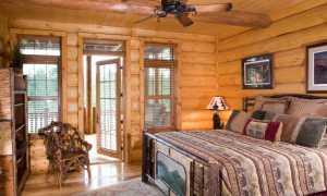 Интерьер спальни в деревянном доме: описание самых подходящих стилей оформления