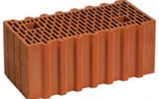 Керамические блоки: технические характеристики, размеры