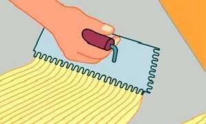 Зубчатый шпатель для плитки как выбрать: назначение и разновидности инструмента