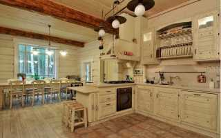 Интерьер кухни в деревянном доме: разработка дизайна своими руками