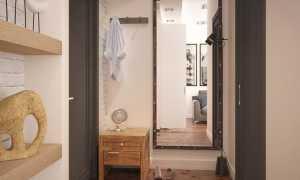 Дизайн маленькой прихожей в квартире-хрущевке: правила создания красивого интерьера
