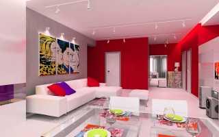 Стиль поп арт в интерьере: отражение ретрокультуры в дизайне квартиры