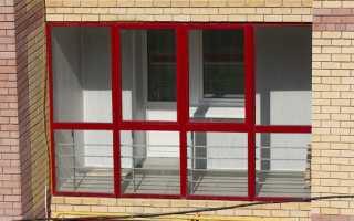Как утеплить алюминиевый профиль на балконе или лоджии своими руками