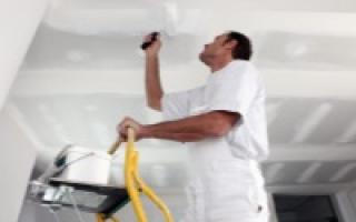 Чем покрасить потолок в ванной комнате: выбор краски, подготовительные работы и особенности процесса
