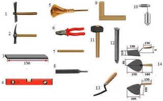 Как класть декоративный кирпич на стену своими руками правильно: инструкция и видео