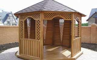 Чем лучше в открытой беседке покрасить деревянный пол?