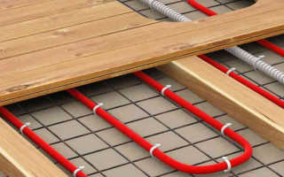 Как сделать теплый электрический пол в деревянном доме своими руками
