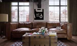 Интерьер гостиной в стиле лофт: правила индустриального дизайна в доме или квартире