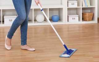 Как мыть ламинат без разводов: советы