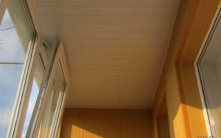 Как сделать потолок на балконе и чем его отделать: рассматриваем варианты и производим установку