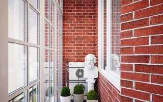 Как покрасить кирпичную стену на балконе или лоджии самостоятельно