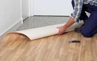 Как выровнять пол под линолеум: быстрое и качественное выравнивание со стяжкой и без своими руками