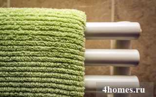 Как быстро сделать ремонт полотенцесушителя водяного и электрического своими руками