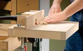 Как собрать компактный стол для фрезера своими руками с чертежами
