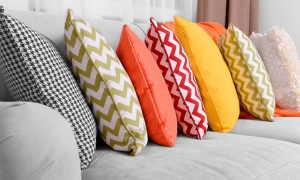 Как сшить подушку на диван своими руками: выбор материалов и процесс изготовления