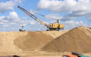 Отличающие песок строительный технические характеристики