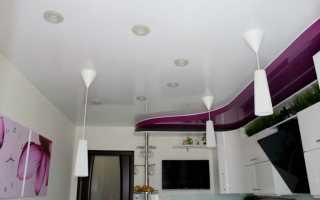 Идеи двухуровневых потолков из гипсокартона: чертежи, эскизы, фото, видео