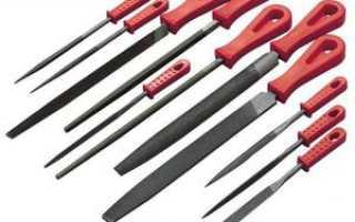 Как выбрать напильник с учетом планируемых работ: типы инструмента