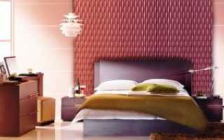 Чем отделать стены в спальне, и как оформить их лучше всего
