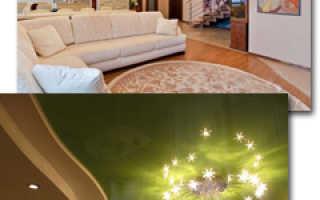 Какой натяжной потолок лучше выбрать: тканевый или ПВХ