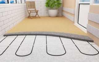 Как сделать теплый пол на балконе и лоджии своими руками