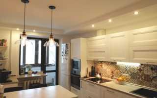 Как сделать потолок из гипсокартона на кухне своими руками: варианты красивых двухуровневых конструкций