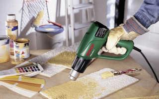 Как выбрать строительный фен: разновидности и характеристики приборов