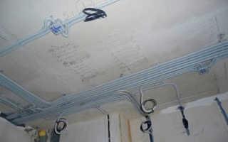 Что такое проводка по потолку в квартире, и как ее сделать своими руками