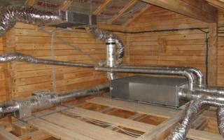 Нужна ли вентиляция в деревянном доме: виды систем, которые можно установить своими руками